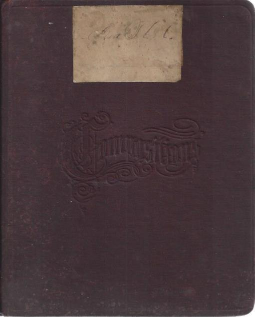 Image for High School Notebook, circa 1860