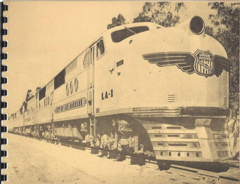 Image for The Union Pacific Railroad (Circa 1940): Reprinted July 1981 with the Permission of The Union Pacific Railroad Company by Skokut Search & Find, Glendora, California