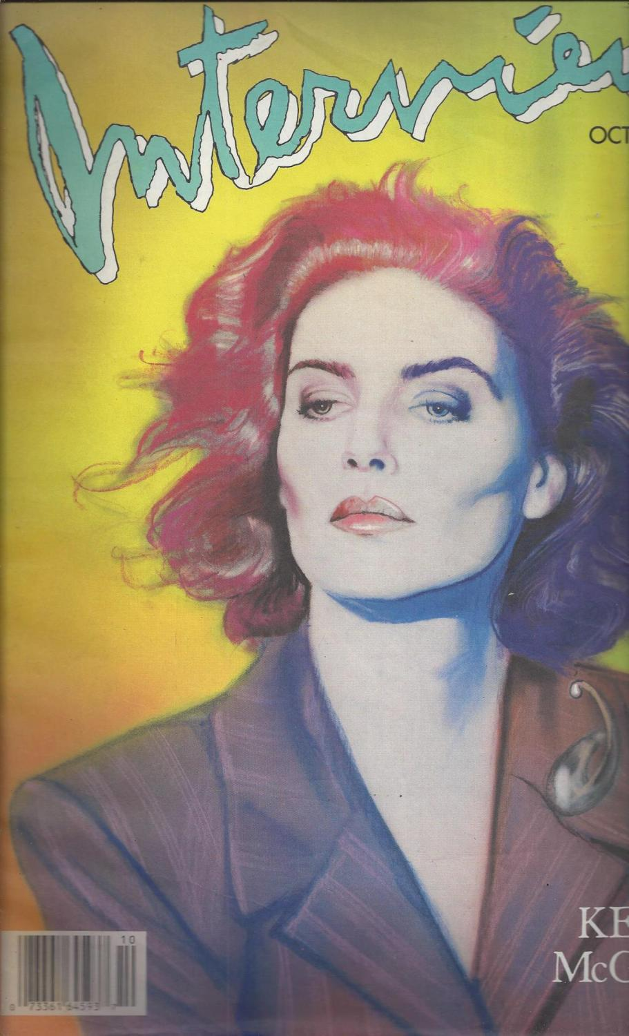 Image for Rare 1987 Andy Warhol's Interview Magazine - Kelly McGillis - Vol. XVII No. 10