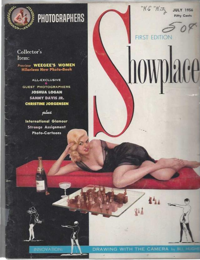 Image for Photographers Showplace Magazine: July 1956 (First Edition)