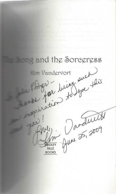 Image for The Song and the Sorceress