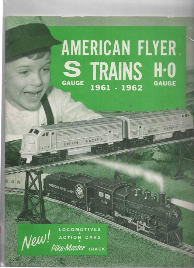 Image for American Flyer Trains, 1961-1962, S Gauge, H-0 Gauge