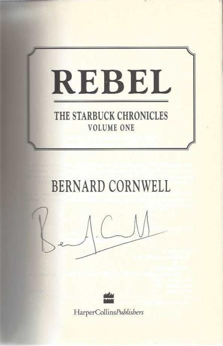 Image for Rebel (The Starbuck Chronicles, Vol. 1)