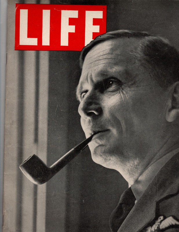 "Image for Life Magazine- January 31, 1944: ""Invasion Deputy, Air Chief Marhal Tedder"" (on cover)"