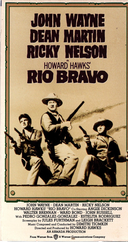 "Image for Collection of 4 John Wayne videos (VHS) ""Rio Bravo,"" ""War of The Wildcats,"" ""Lady For A Night,"" ""The Long Voyage Home"""