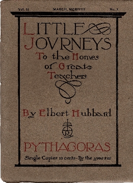 Image for Little Journeys to the Homes of Great Teachers, 3 Volume Set, Volumes 3, 7, & 11