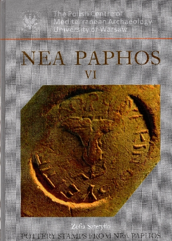 Image for NEA Paphos VI: Pottery Stamps from NEA Paphos (Excavations in 1990-2006)