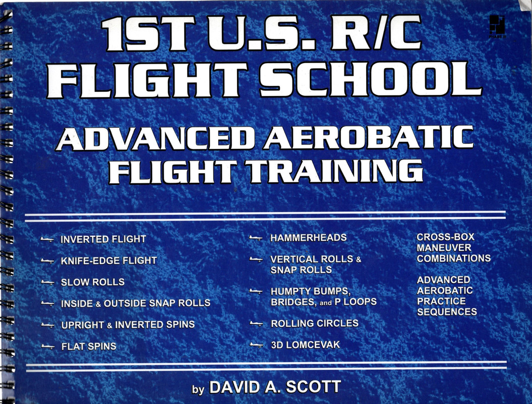 Image for 1st U.S. R/C Flight School Advanced Aerobatic Flight Training