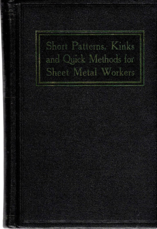 Image for Short Patterns, Kinks and Quick Methods for Sheet Metal Workers