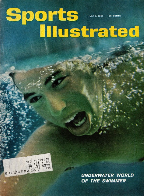 Image for Sports Illustrated July 3, 1961 Underwater World of the Swimmer