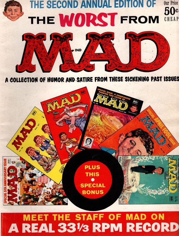 Image for The Second Annual Edition of The Worst From MAD